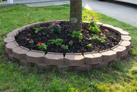 Landscape Edging Around Trees Landscape Edging Ideas For A View Around The