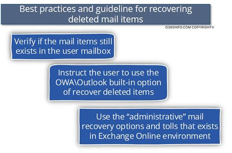 Office 365 Portal Recover Deleted Items Recover Deleted Mail Items Office 365 4 7 O365info