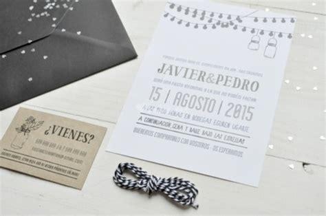 invitaciones para boda tendencias otono invierno 2016 16 decoracion de interiores fachadas 30 ideas nuevas de invitaciones de boda muy bonitas y originales