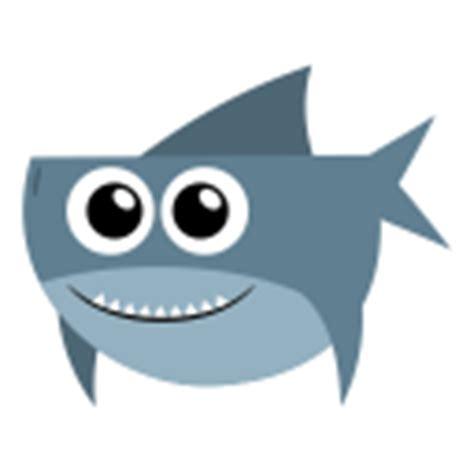 baby shark emoji flat animal iconset 40 icons martin berube