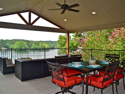 house rental with boat included stunning lake hamilton views covered boat stall included vacationrentals com