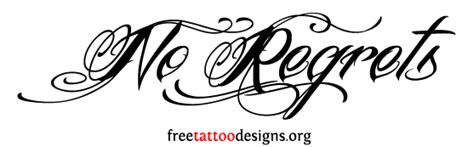 tattoo ideas quotes no regrets wrist tattoos designs and ideas