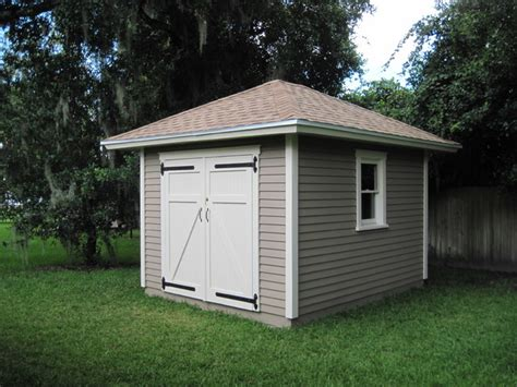 Hip Roof Shed 10 x12 hipped roof shed traditional garage and shed other metro by historic shed