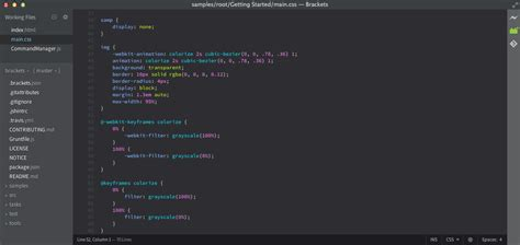 Themes Brackets Editor   other haxe ides code editors documentation haxedevelop