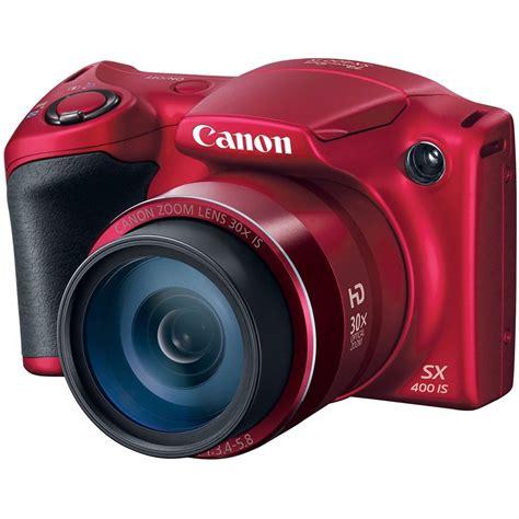 canon 30x zoom digital powershot sx400 camara digital 30x optical zoom color roja