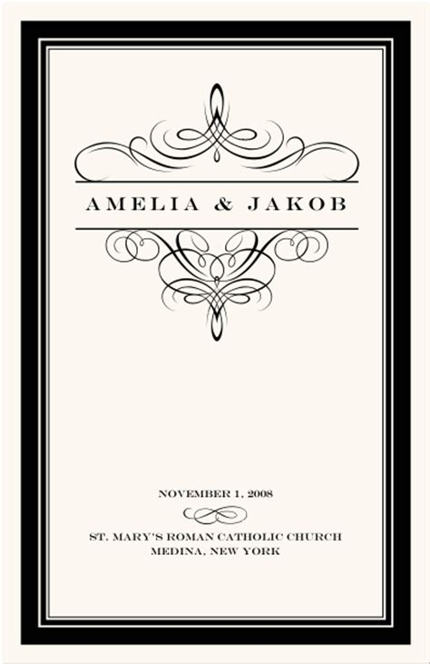 wedding program cover templates wedding programs wedding program wording program sles