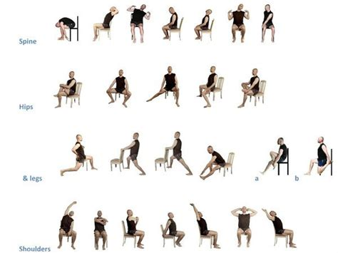 armchair exercises for the elderly 307 best iyengar yoga chair images on pinterest iyengar