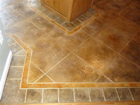 floor tile patterns   concrete kitchen floor random tile