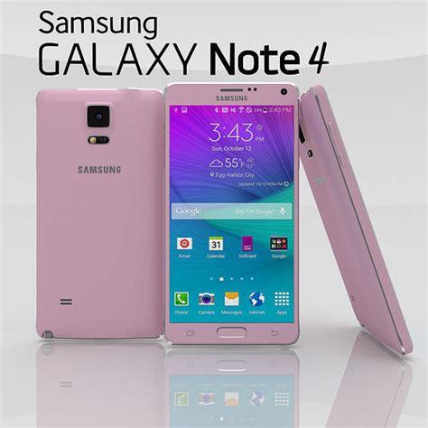 samsung revela galaxy note 4 e galaxy note edge um smartphone tela quot dobrada quot tecnoblog 3d model samsung galaxy note 4 blossom pink cgtrader