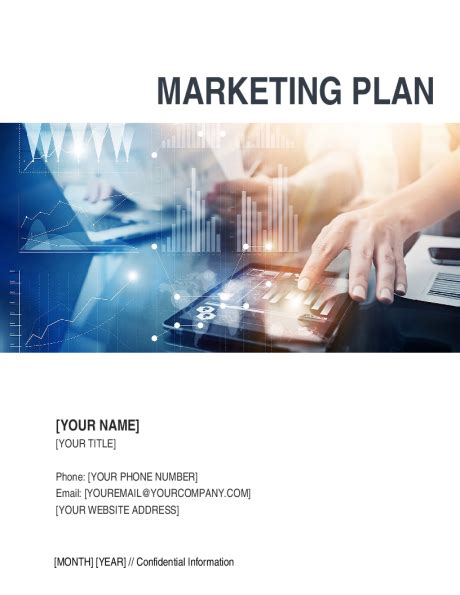 marketing plan template sle form biztree com
