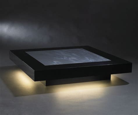 Luxury Coffee Table Luxury Illuminated Square Coffee Table