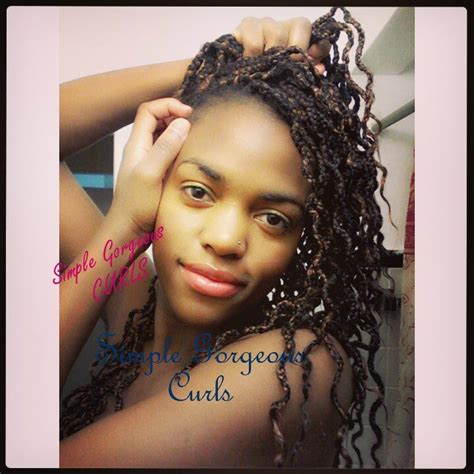 what hair to use for curly box braids how to turn straight box braids to nice curly braids youtube