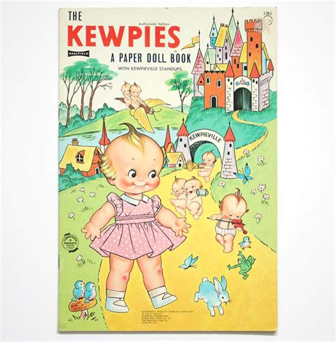 paper dolls book five books the kewpies paper doll book saalfield 1963 1968 jos l