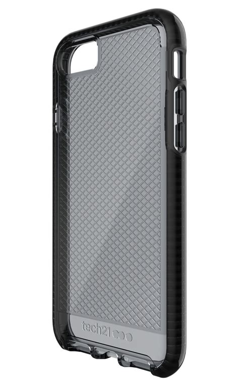Tech 21 Iphone 7 Evo Check Smokey Black tech21 evo check smokey black iphone 8 7 cases protectors mobile phones accessories