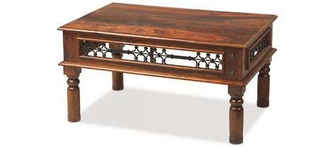 Indian Coffee Tables Uk Jali Sheesham 90 Cm Coffee Table Quercus Living
