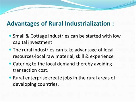 Meaning Of Cottage Industry by Rural Entrepreneurship