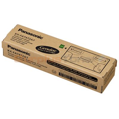 Panasonic Toner Cartridge Kx Fat472e panasonic kx mb2120 toner cartridge black kxfat472x