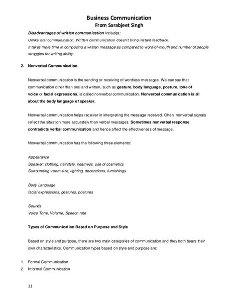Business Communication Essay by Essay In Communication