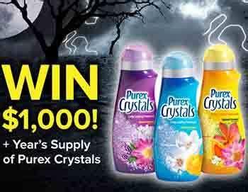 Purex Sweepstakes - purex com purex s halloween cash sweepstakes