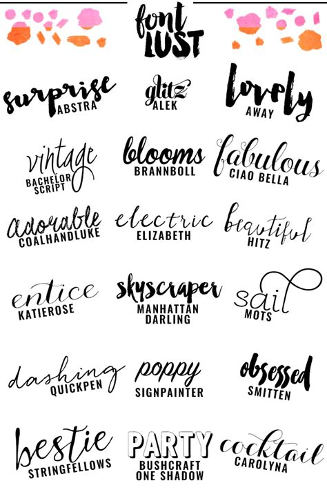 best fonts the best handwritten script fonts for your venus