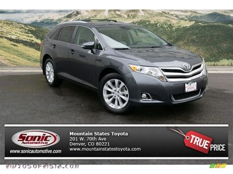 Toyota Venza Le 2013 Toyota Venza Le Awd In Magnetic Gray Metallic