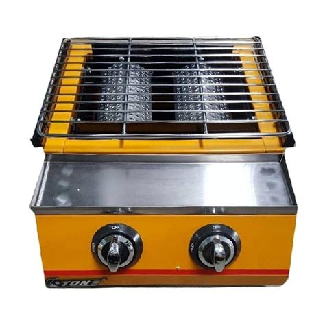 Alat Panggang Tanpa Asap jual eton et k111 2 bbq roaster alat panggang tanpa asap harga kualitas terjamin