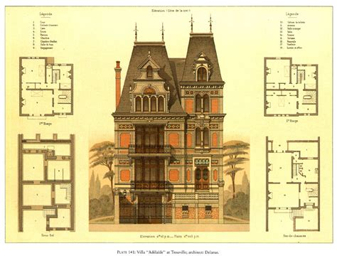 Second Empire House Plans
