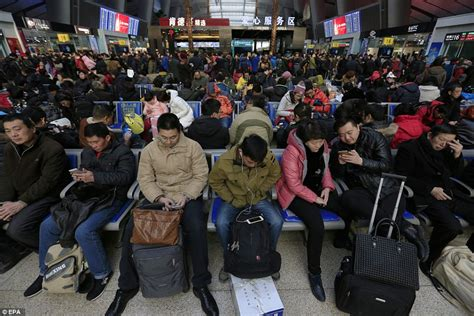 new year period in china china expects to transport 2 91bn passengers during lunar