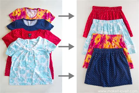 Tshirt Something Out Of turn shirts into clothes 5 ways diy thought