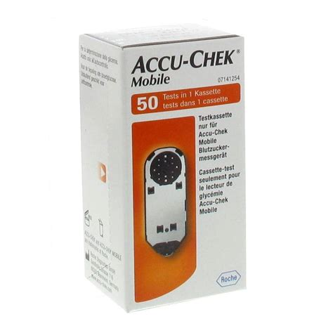 mobile cassette roche accu chek mobile cassette shop pharmacie fr