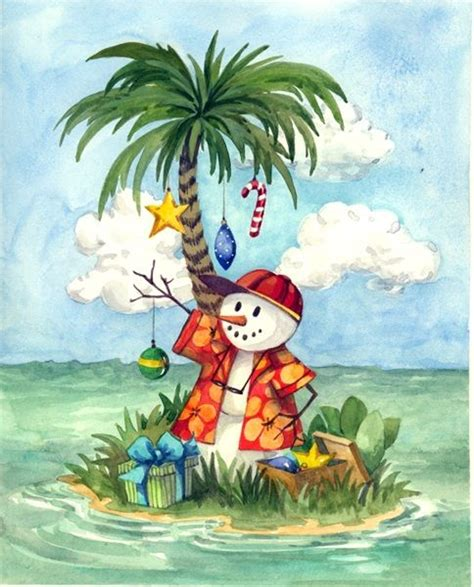 cypress fine art licensing tropical christmas christmas paintings nautical christmas