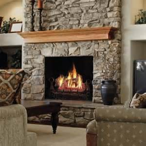 fireplaceinsert napoleon fiberglow vent free gas log set