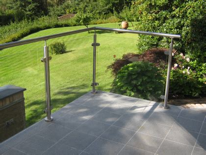 geländer terrasse glas hegn til terrasse