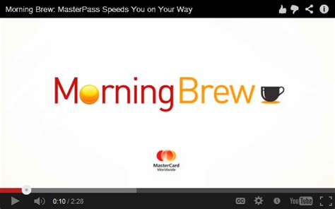 Morning Brew the future of payments is here mastercard at mobile world congress 2013 global hub