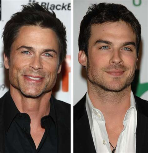 ian somerhalder face shape who looks like them list