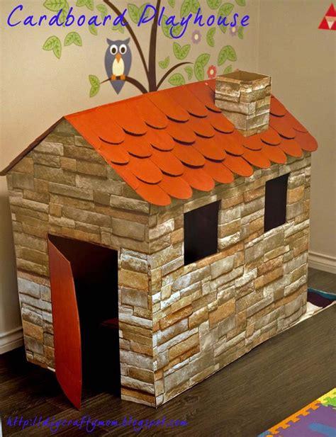 cardboard house 25 unique cardboard playhouse ideas on pinterest