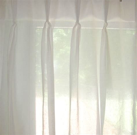 pinch pleated sheer curtains faux linen pinch pleat curtains curtain menzilperde net