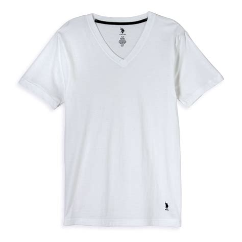 T Shirt Kaos Nike Putih u s polo assn s v neck t shirt 3 pack
