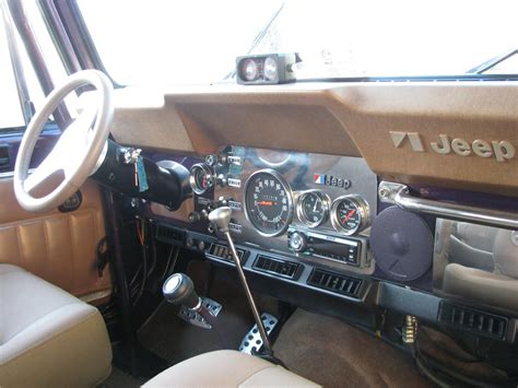cj jeep interior 1980 jeep cj 7 custom suv 125186