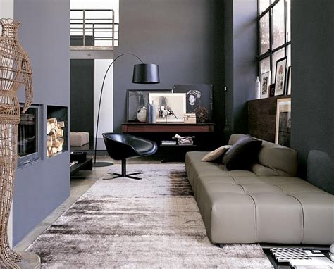 Black And Gray Living Room by Gray Black Living Room Interior Design Ideas