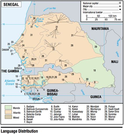 africa map 2003 senegal maps perry casta 241 eda map collection ut library