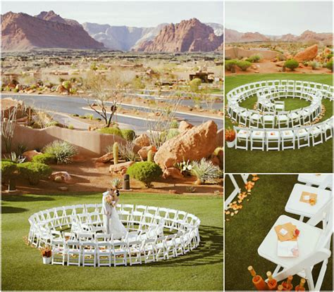 Unique Backyard Wedding Ideas Unique Outdoor Wedding Decor Unique Ceremony Seating Idea