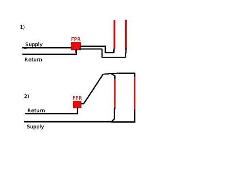 Fuel Pressure Regulator Plumbing fuel pressure regulator plumbing ls1tech