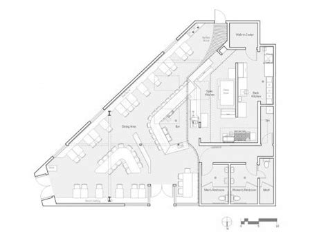 Küchenschrank Design Layout by 25 Best Ideas About Restaurant Plan Auf