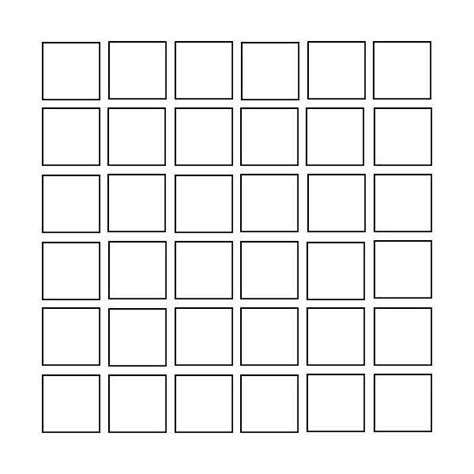 Grids6x6 6x6 square grid use liked on polyvore lizart s ideas
