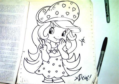 imagenes de dibujos kawaii a lapiz dibuja caricatura kawaii de rosita fresita xdb youtube