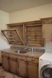 built in drying racks in laundry room ideas for our new