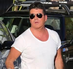 simon cowell fat face britain s got talent 2013 simon cowell looks like his