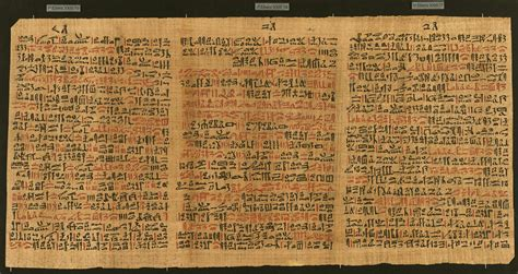 the features of the papyrus ebers books hanf im alten 196 gypten