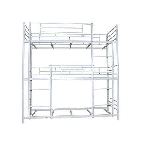 metal bunk beds with stairs metal steel bunk bed with stairs buy bunk